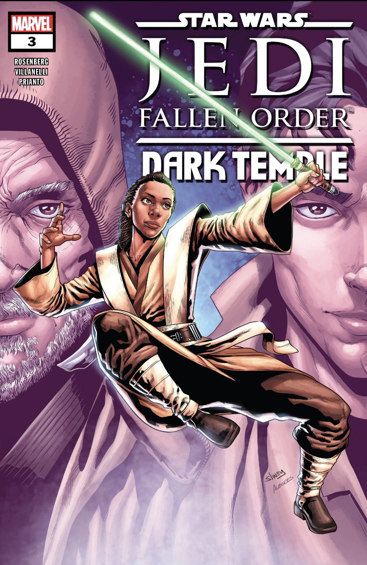 Star Wars Jedi Fallen Order Dark Temple #3 Cover