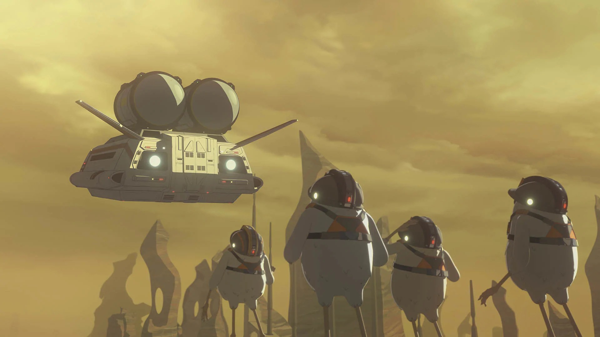 Star Wars Resistance From Beneath