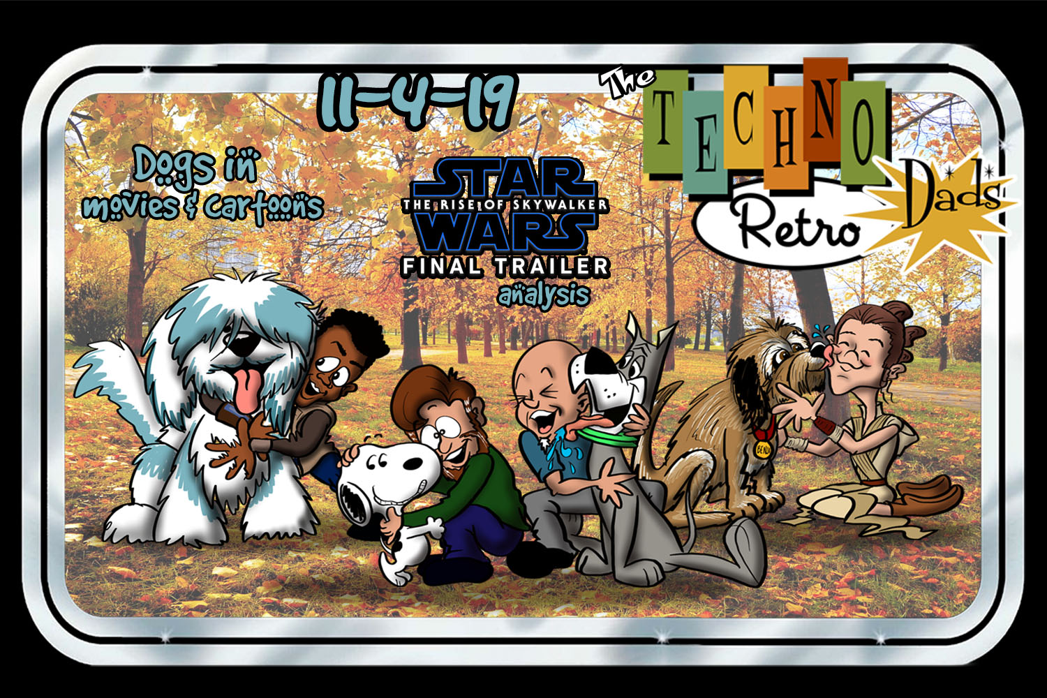 TechnoRetro Dads and Dogs discuss The Rise of Skywalker