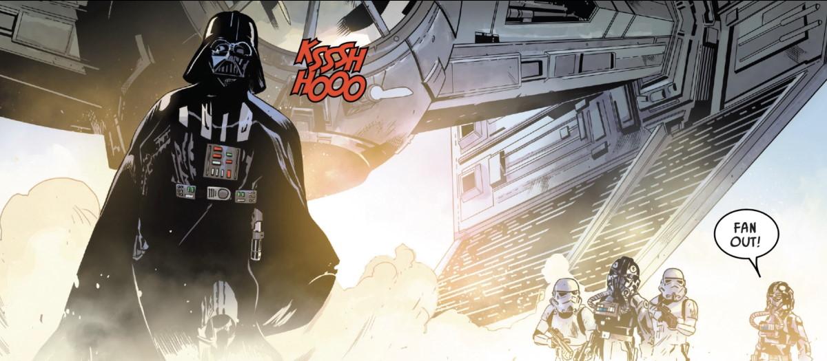 Vader Lands - Target Vader #3