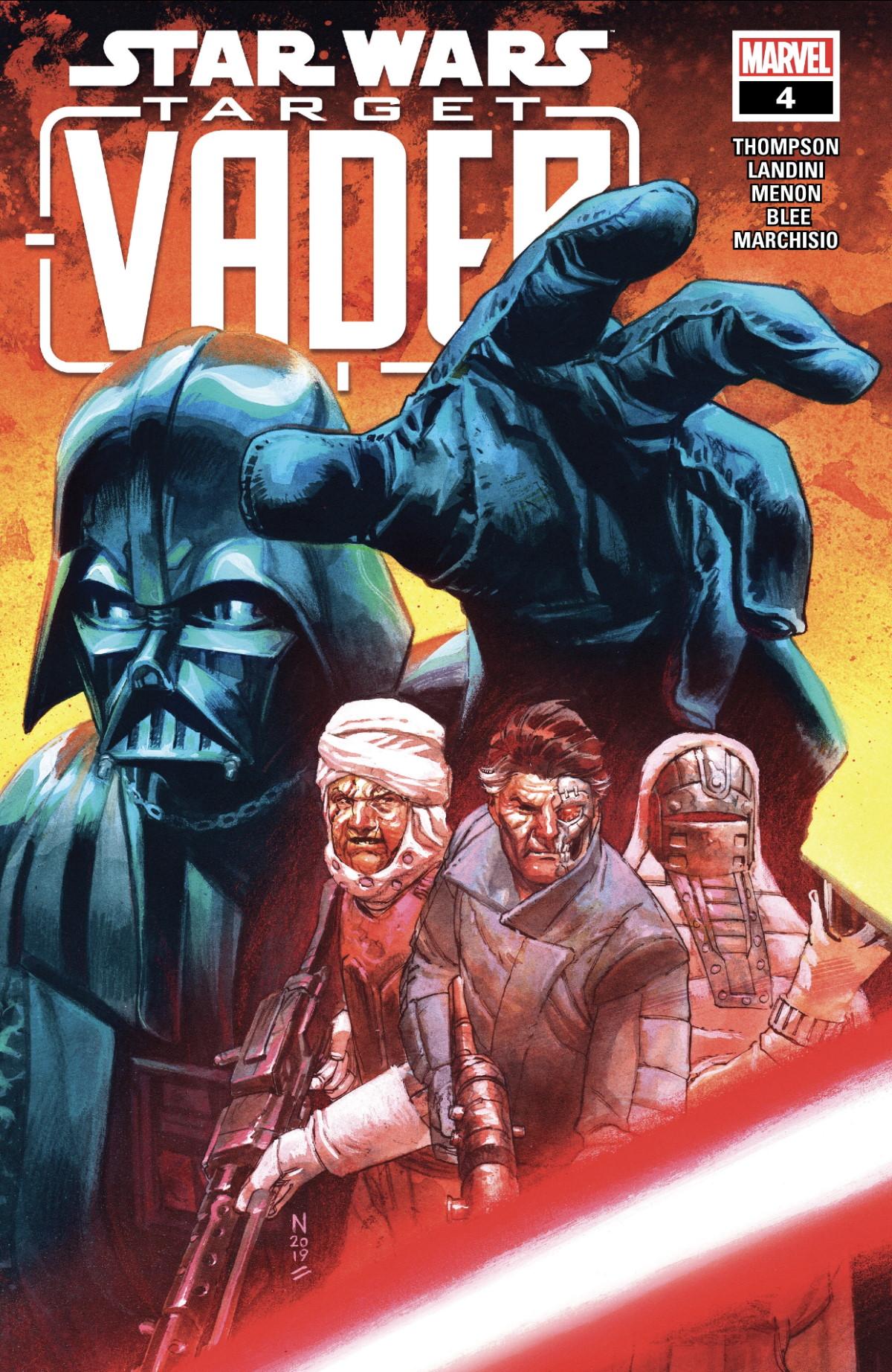 Target Vader #4 Cover