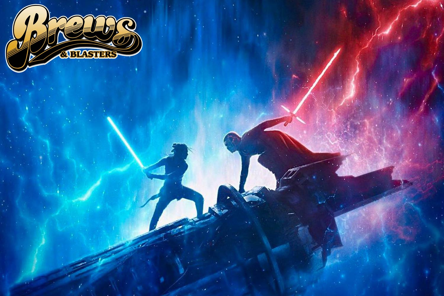 Brews and Blasters 239: Throwing Chairs I: Chris and Joe Review Star Wars: The Rise of Skywalker