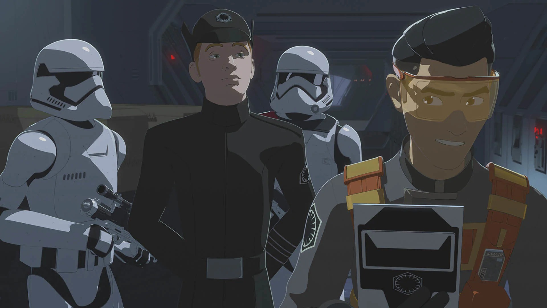 Star Wars Resistance Station to Station