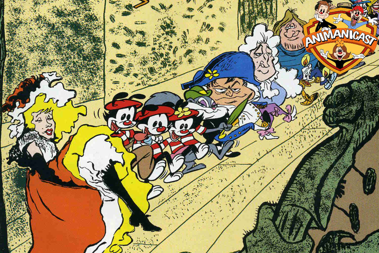Animaniacs Reboot Talk and Review of Animaniacs in France Comic