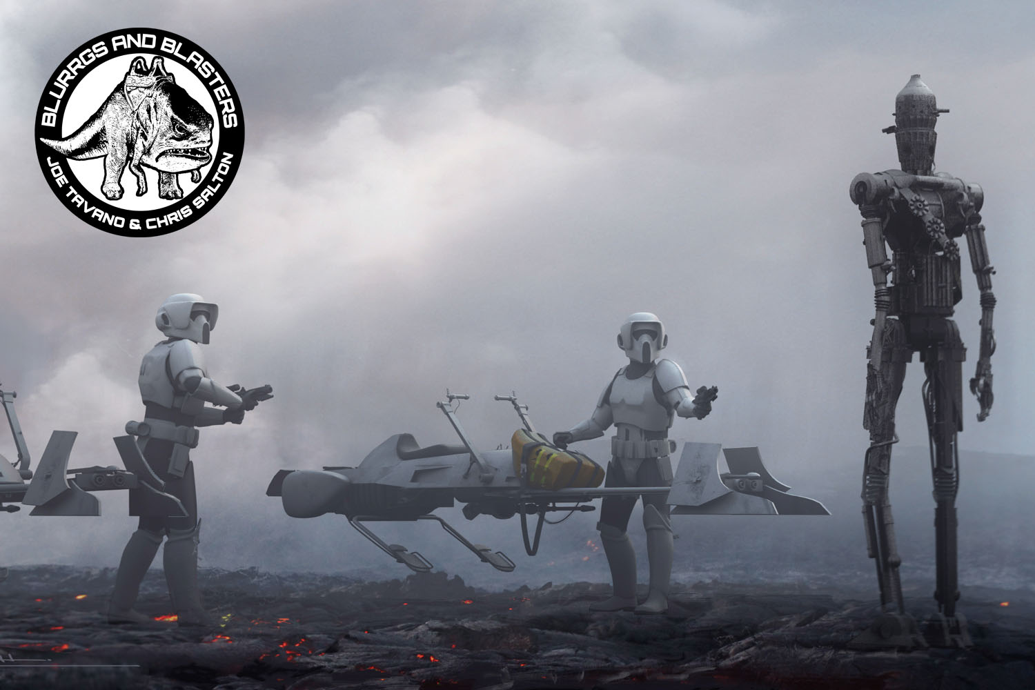 Blurrgs and Blasters: The Mandalorian, Chapter 8: Redemption (Brews and Blasters 243)