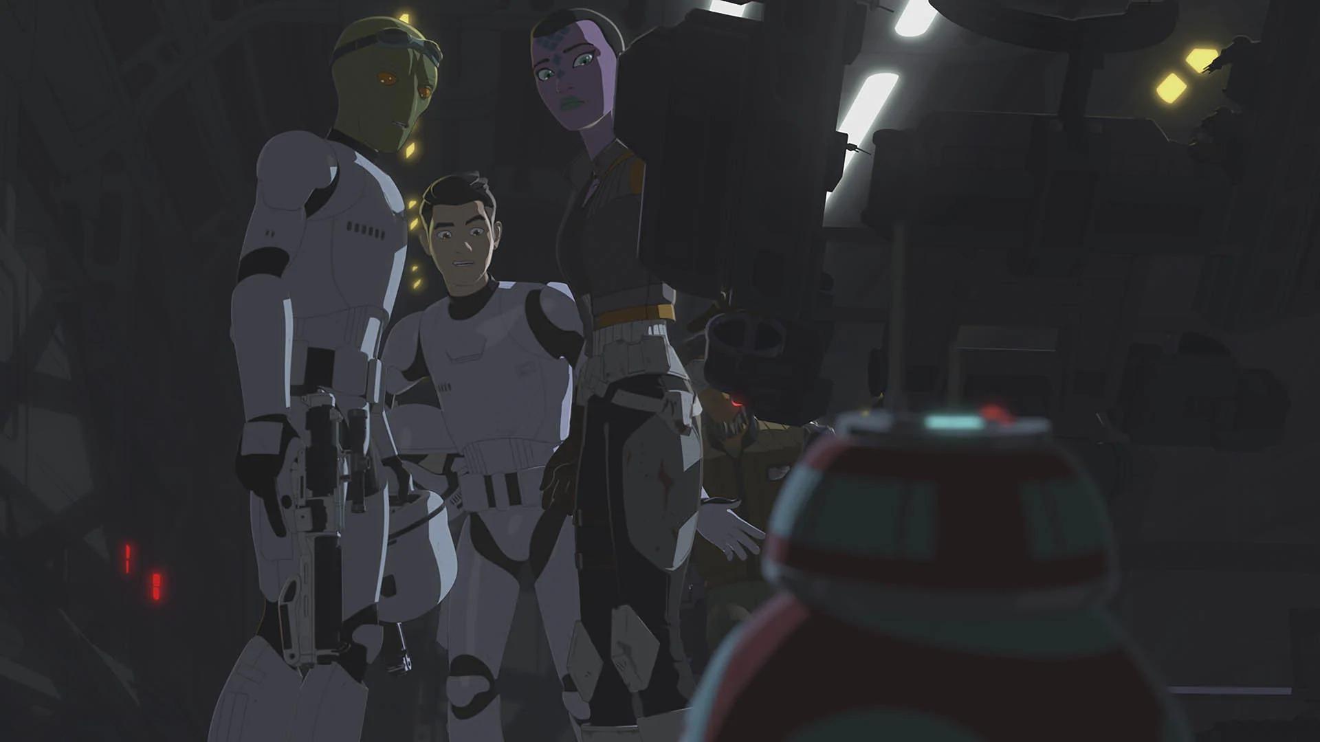 Star Wars Resistance Breakout
