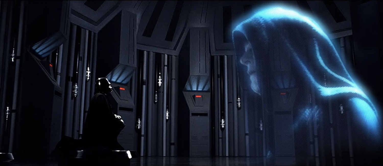 The Emperor and Vader