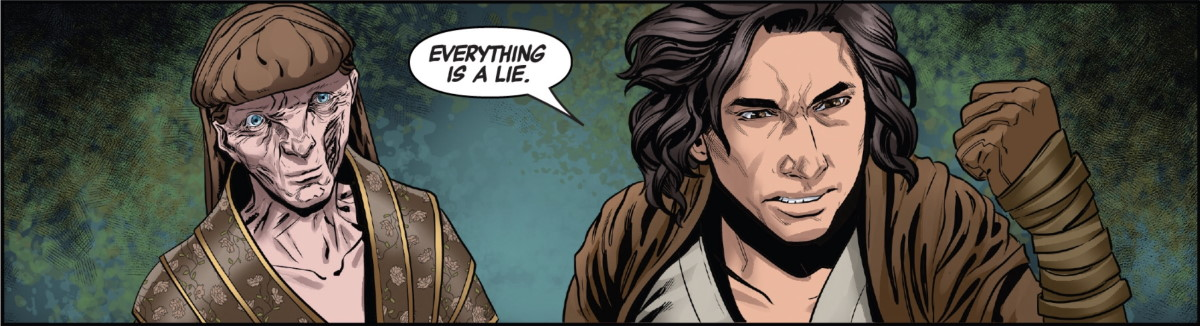 The Rise of Kylo Ren #2 - Everything is a lie