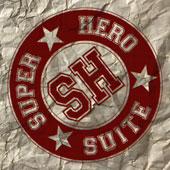 Superhero Suite podcast player