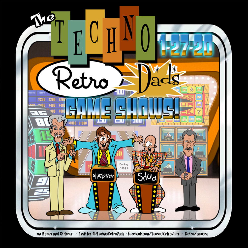 TechnoRetro Dads Game Shows on TV