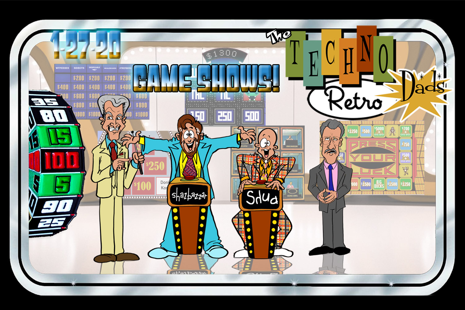 TechnoRetro Dads on Game Shows?