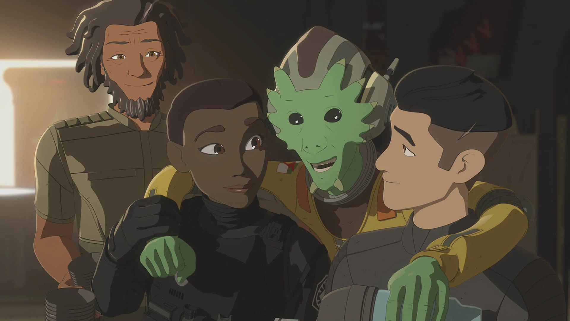 Star Wars Resistance The Escape