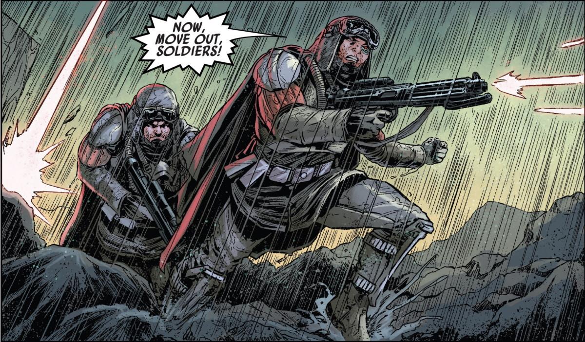 Target Vader #5 - Valance - Infantry Soldier - Grunt