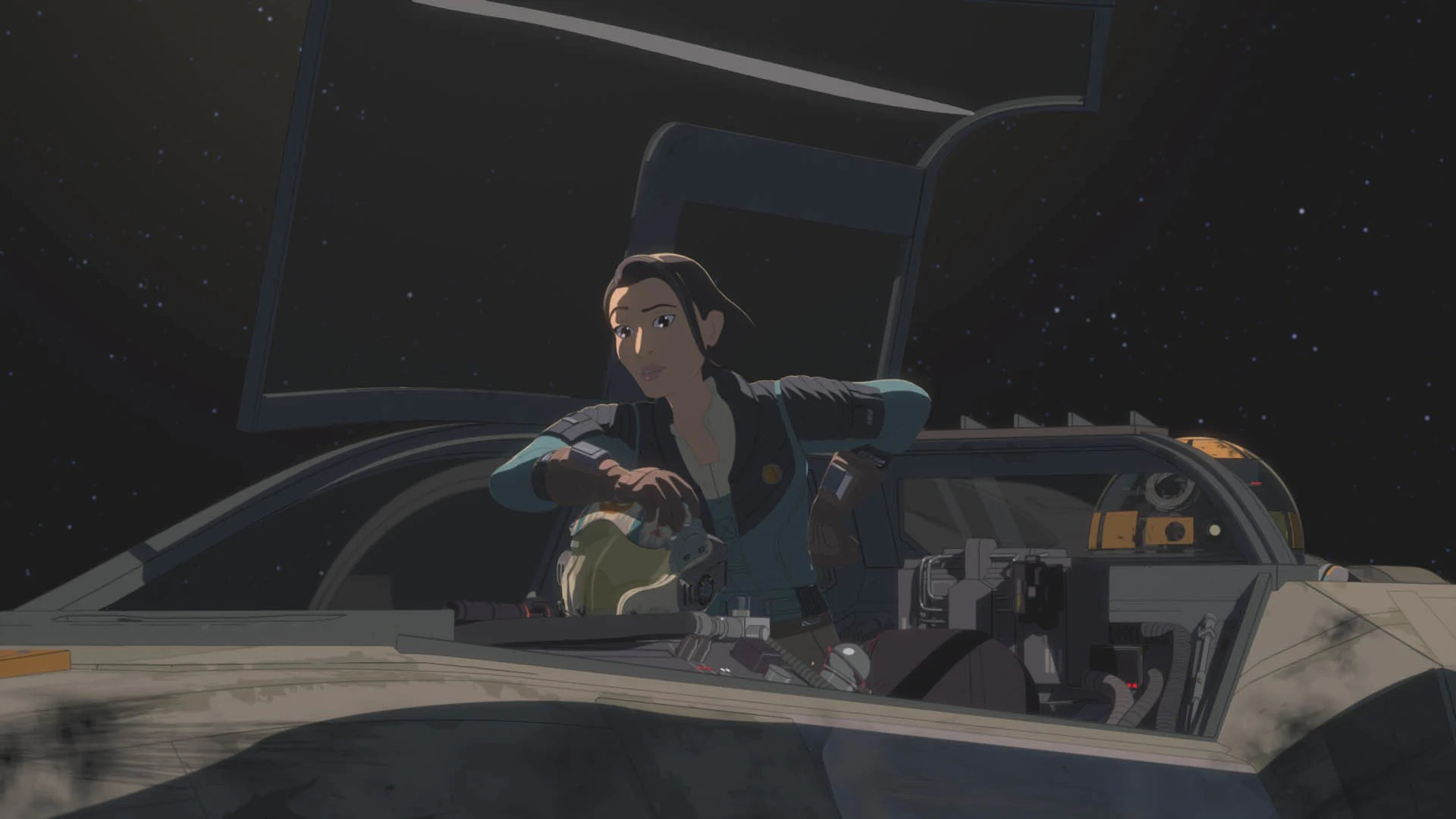 Star Wars Resistance Rebuilding the Resistance