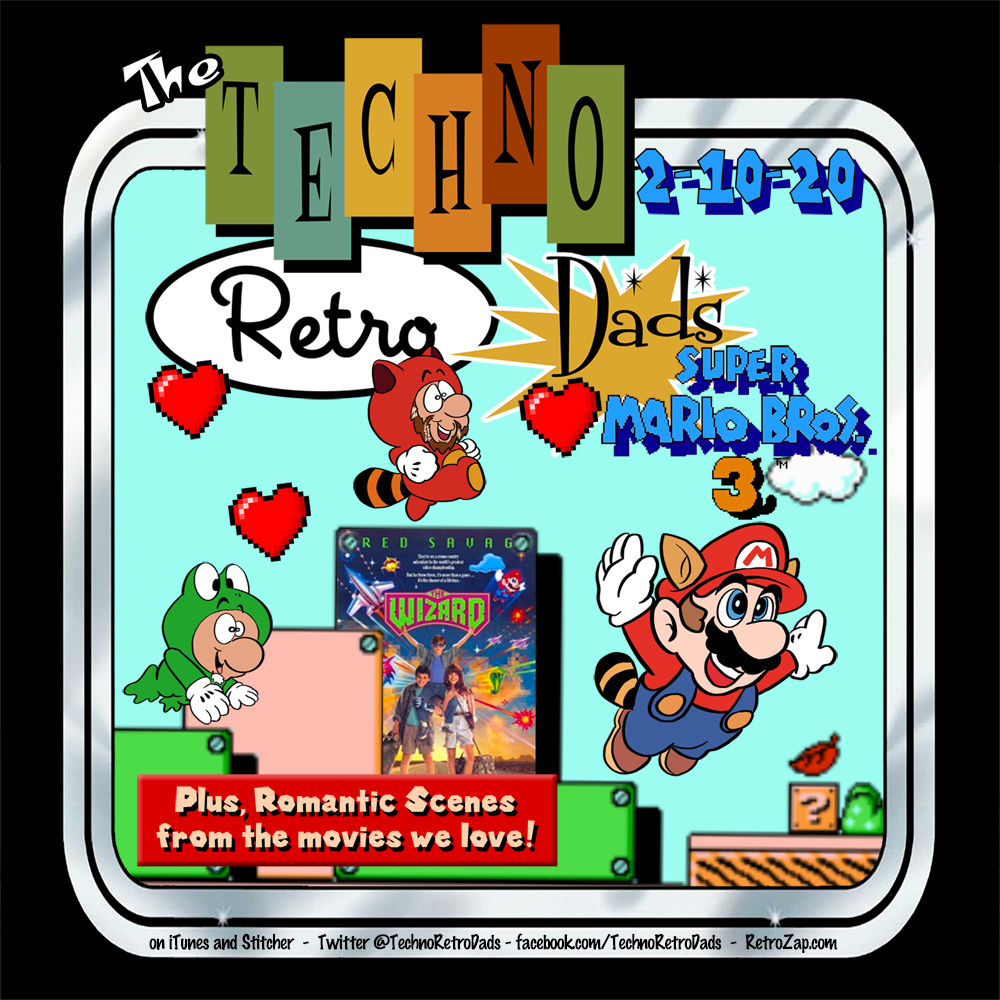 TechnoRetro Dads Super Mario Bros 3