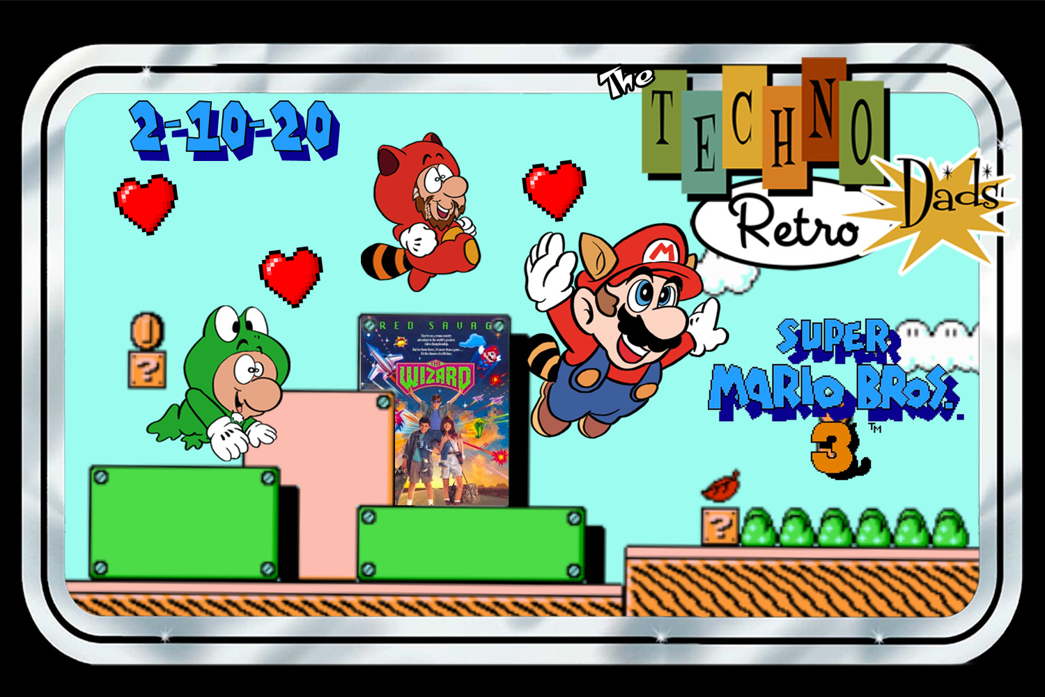 TechnoRetro Dads: The Wizard of Super Mario Bros. 3