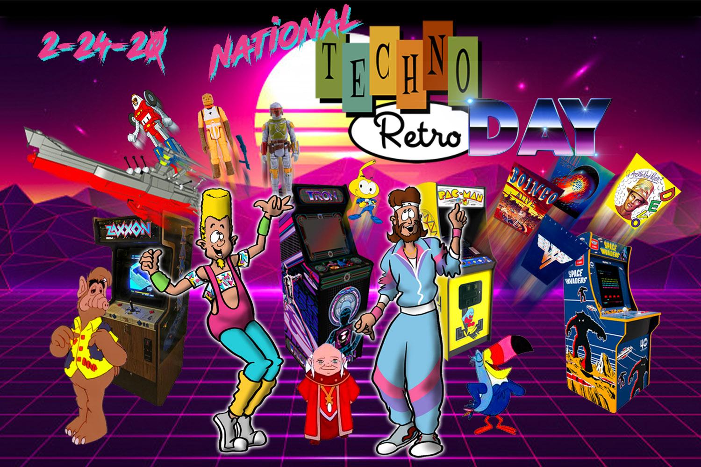 TechnoRetro Dads Celebrate Retro Day