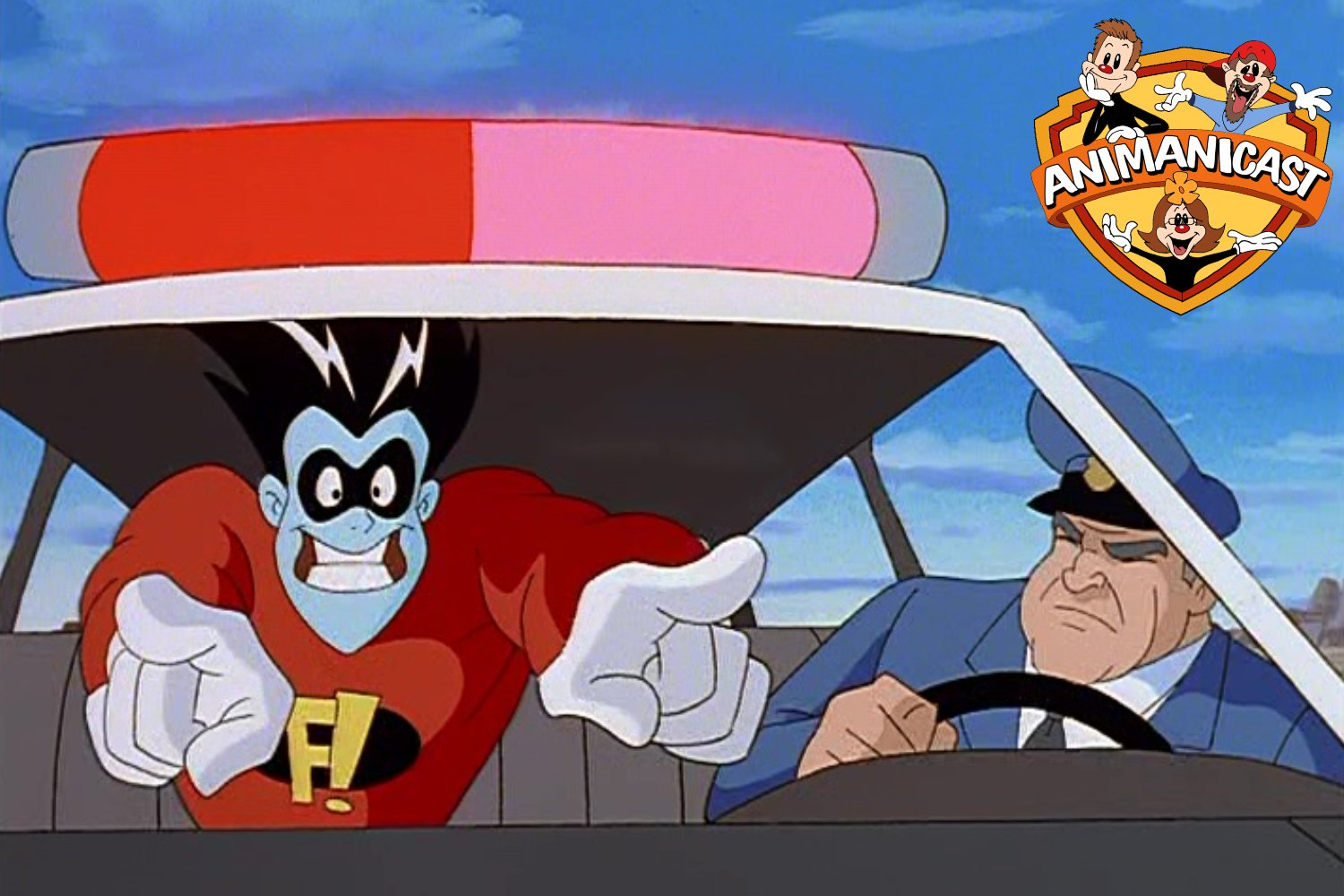 Discussing Freakazoid- Hot Rods From Heck
