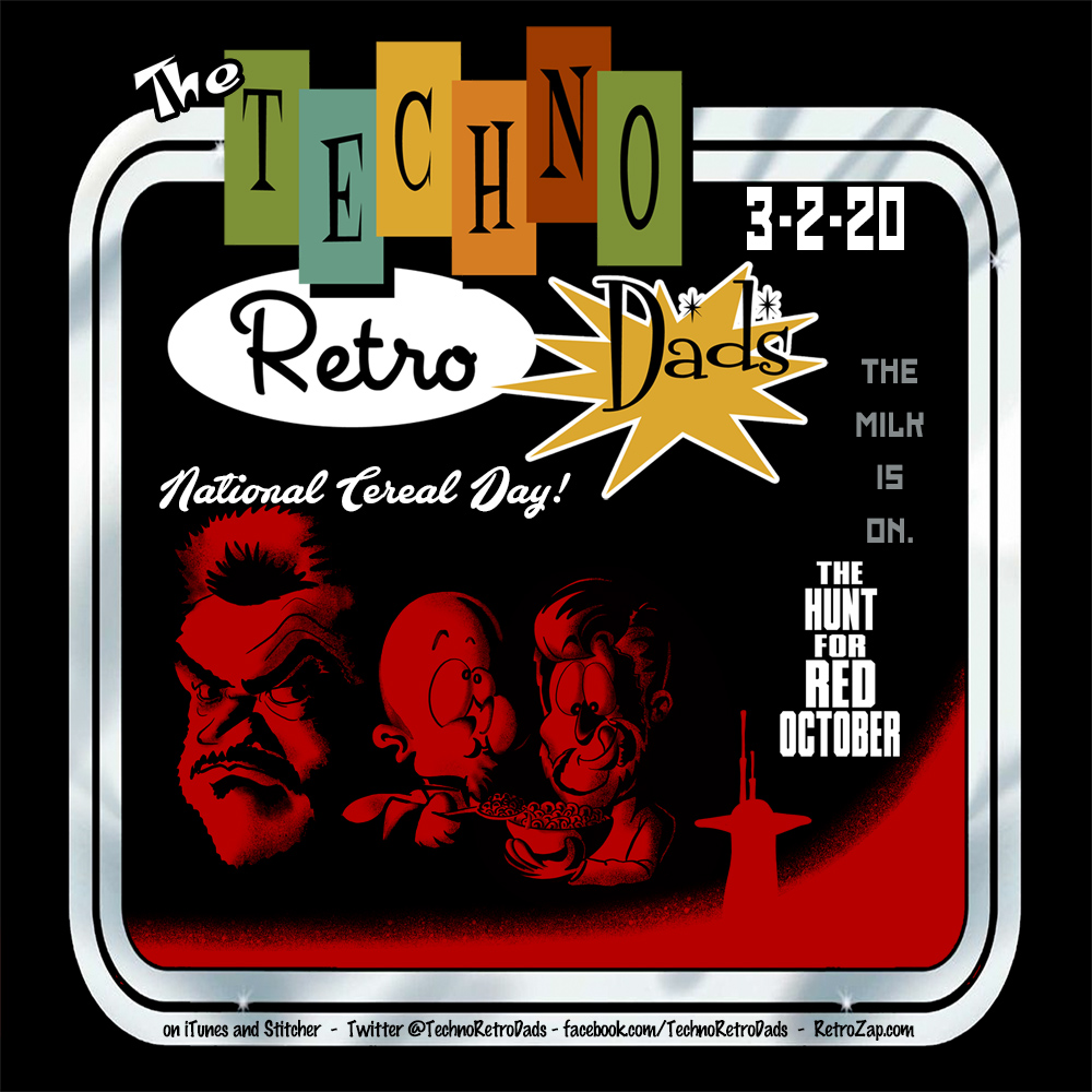 The Hunt for Red October TechnoRetro Dads on RetroZap