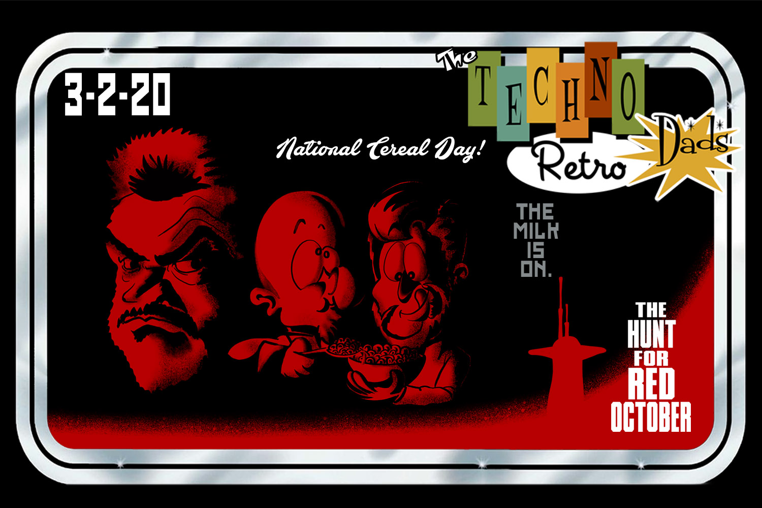 Red October Cereal Day
