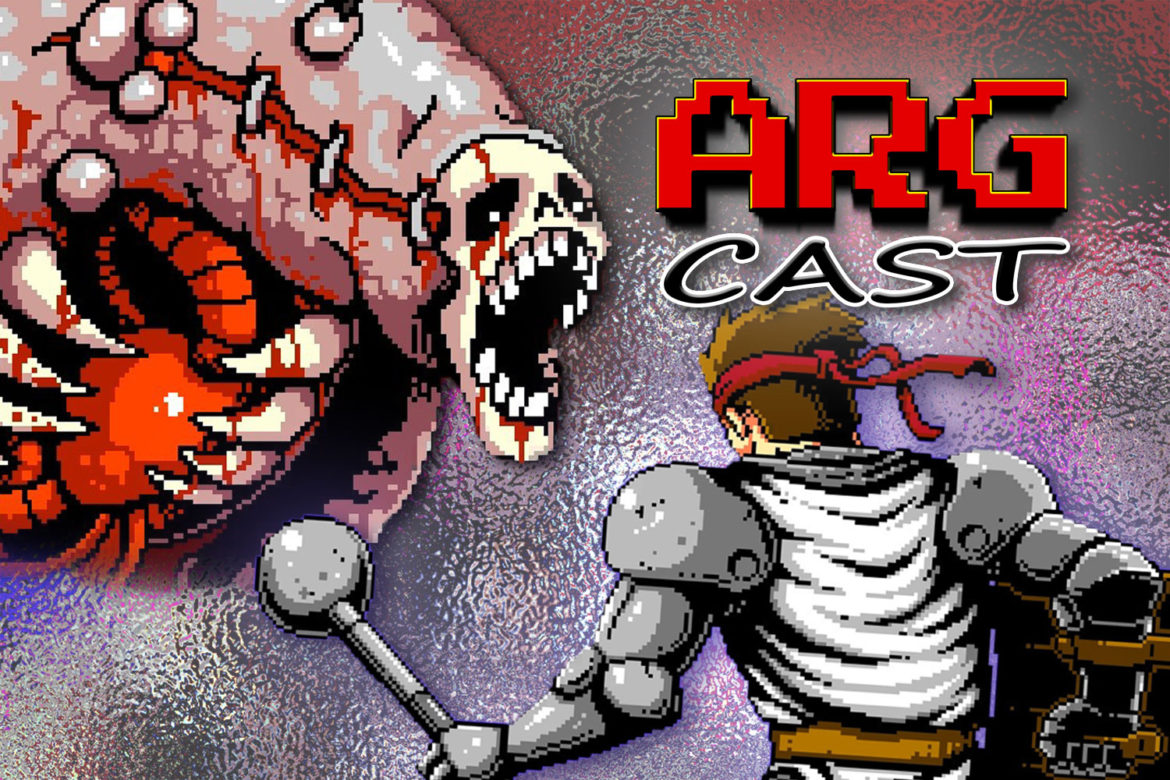 ARGcast #202: Slaying and Praying in Infernax w/ Hunter Bond of Berzerk Studio
