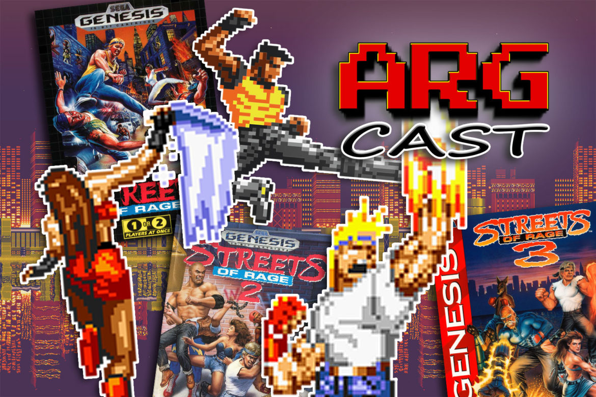 ARGcast #205: Rumbling in Streets of Rage w/ Tony Polanco, Chris Sealy