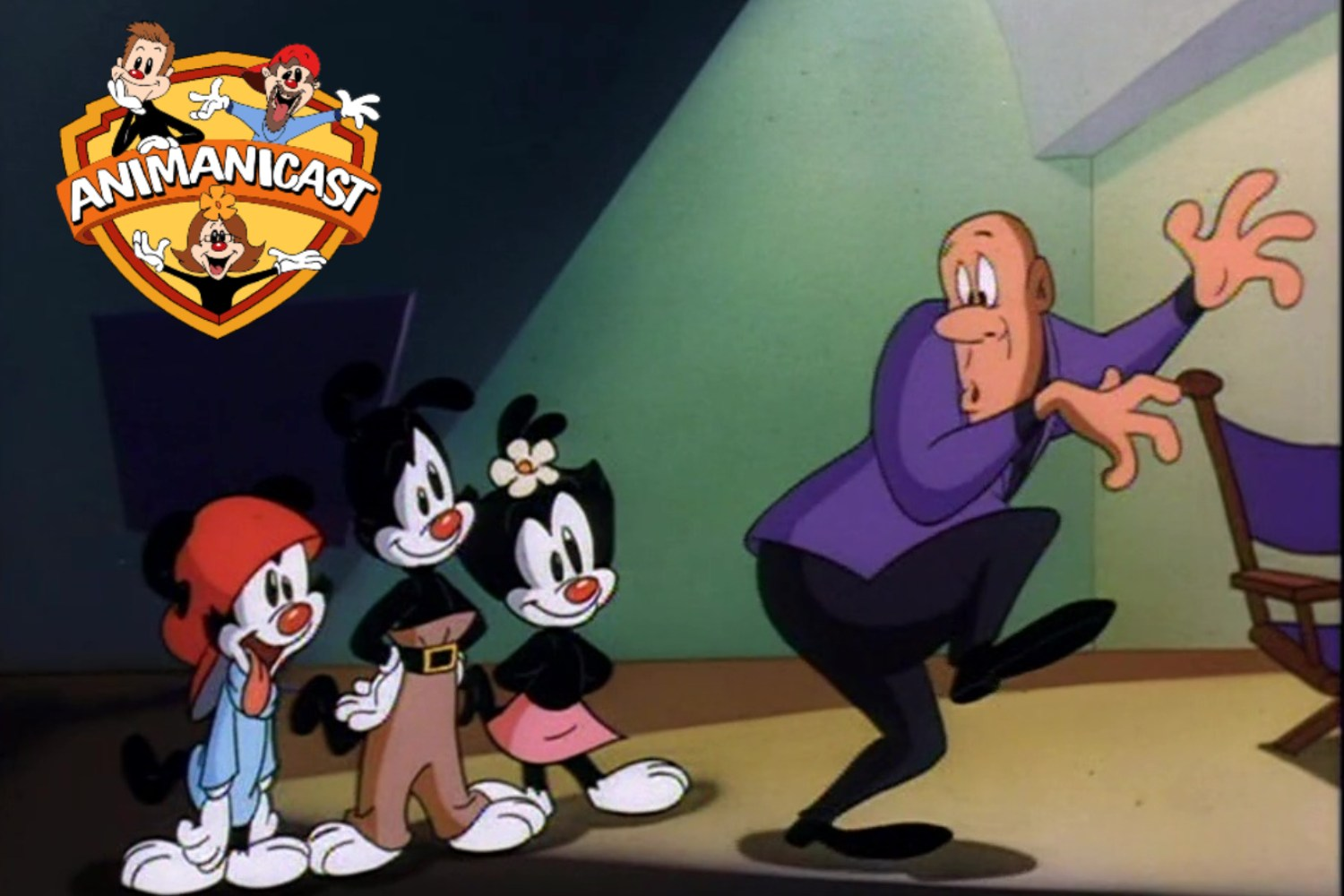 "Animanicast 175: ""Hearts of Twilight"" with Animaniacs Creator Tom Ruegger and Writer Paul Rugg"