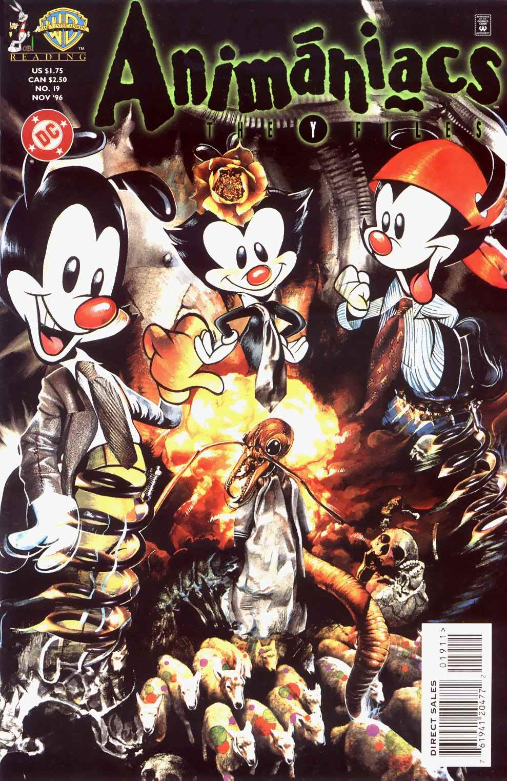 Animaniacs Issue 19