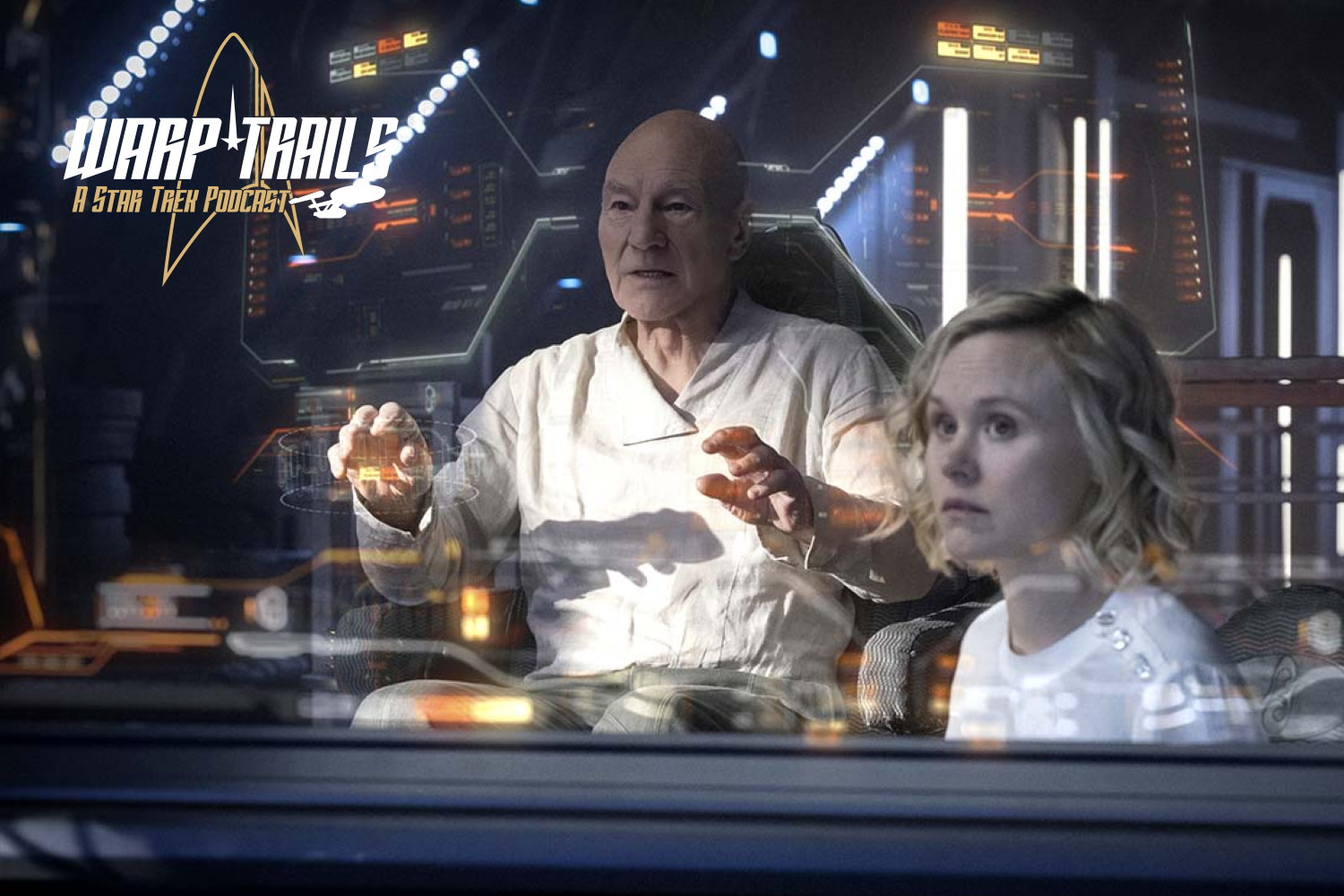 Warp Trails - Picard - Et in Arcadia Ego Part 2 - Star Trek