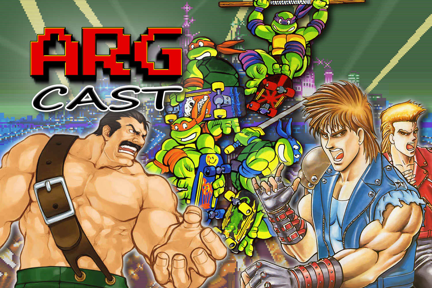 ARGcast #207: Brawling in Beat 'Em Ups w/ Big Cheese, Tony Polanco