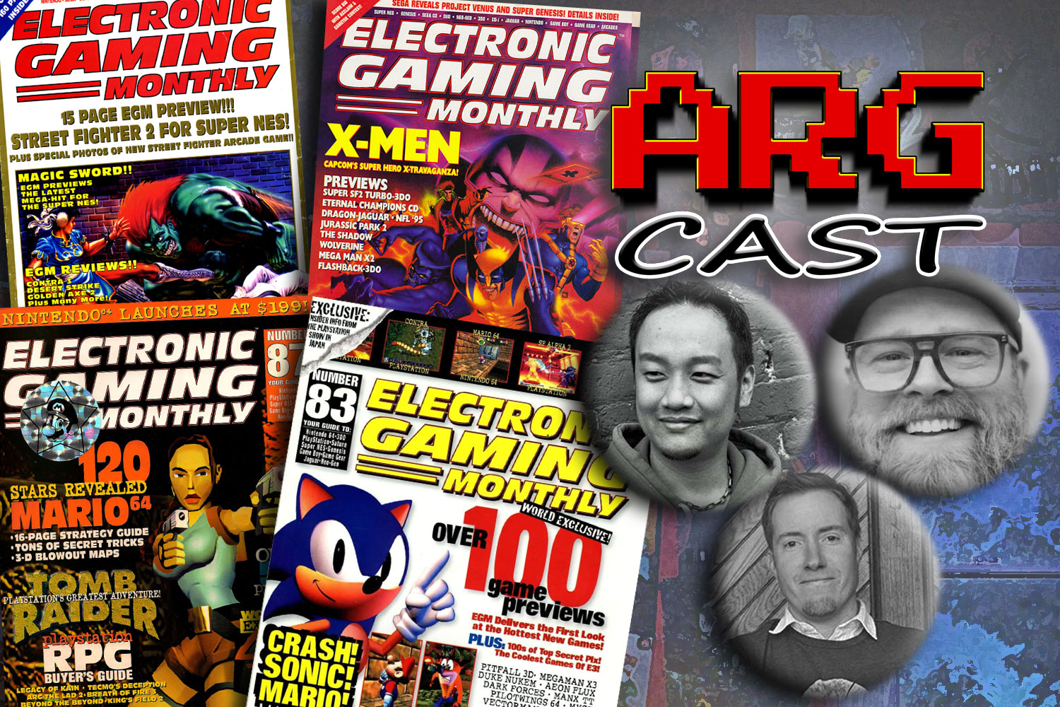 ARGcast #210: Electronic Gaming Monthly w/ Shoe, Shawnimal, & Crispin