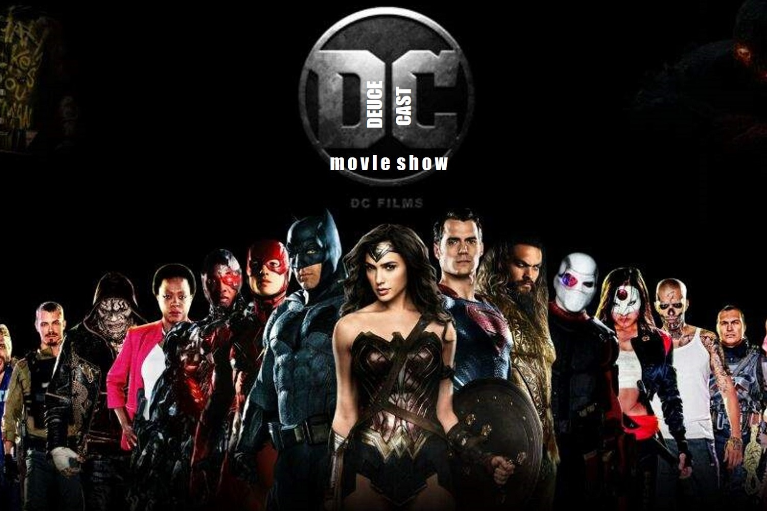 The Deucecast Movie Show #433: The DC Cinematic Top Five