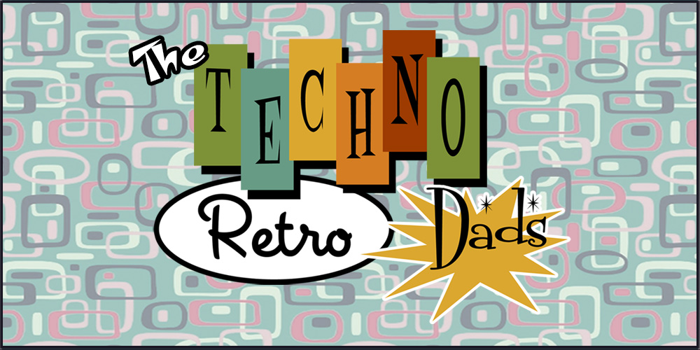 TechnoRetro Dads Atomic Logo