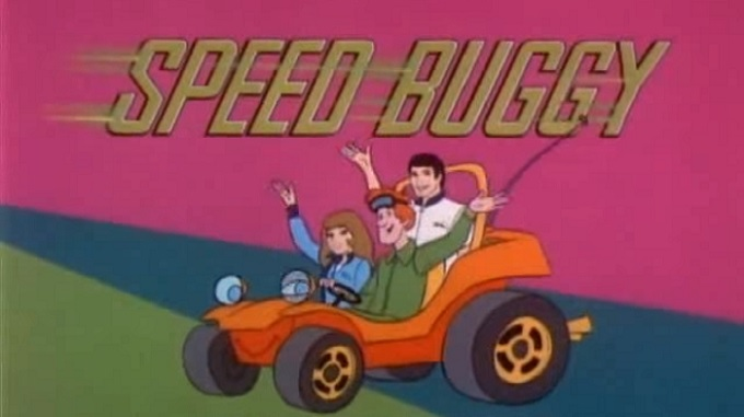 Speed Buggy Title Card