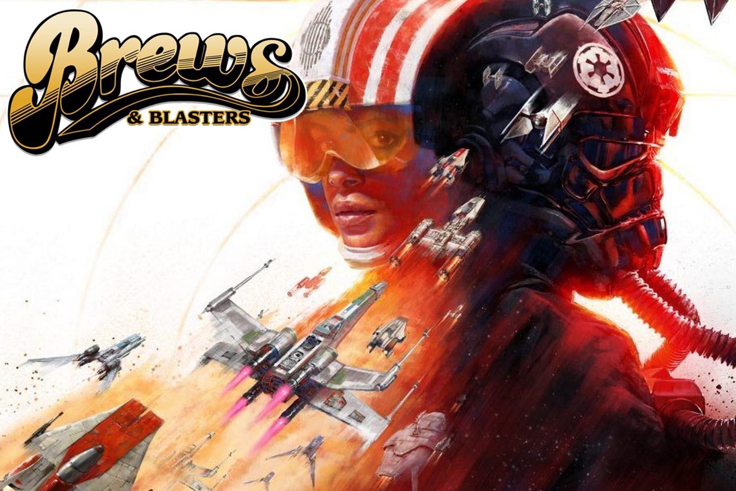 This week on Brews and Blasters, Chris and Joe rediscover their Renegade roots, remember the perfection of Don't Tell Mom the Babysitter's Dead, discover the trailer for Star Wars Squadrons, dissect the first chapter of Star Wars: The High Republic: Light of the Jedi first chapter and much more. The dishes are done, man! The Star Wars party starts NOW! It's time for Brews and Blasters.
