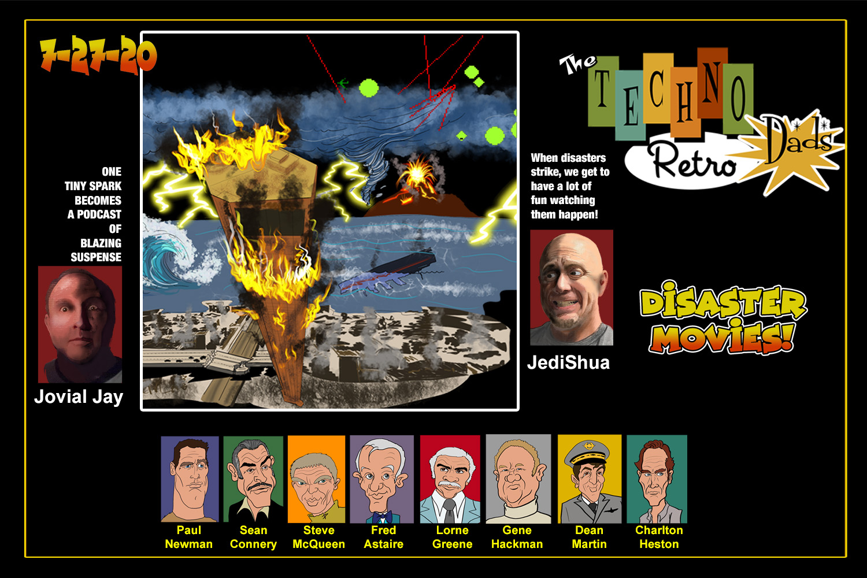 TechnoRetro Dads: Shake and Bake the Retro Disaster Movies