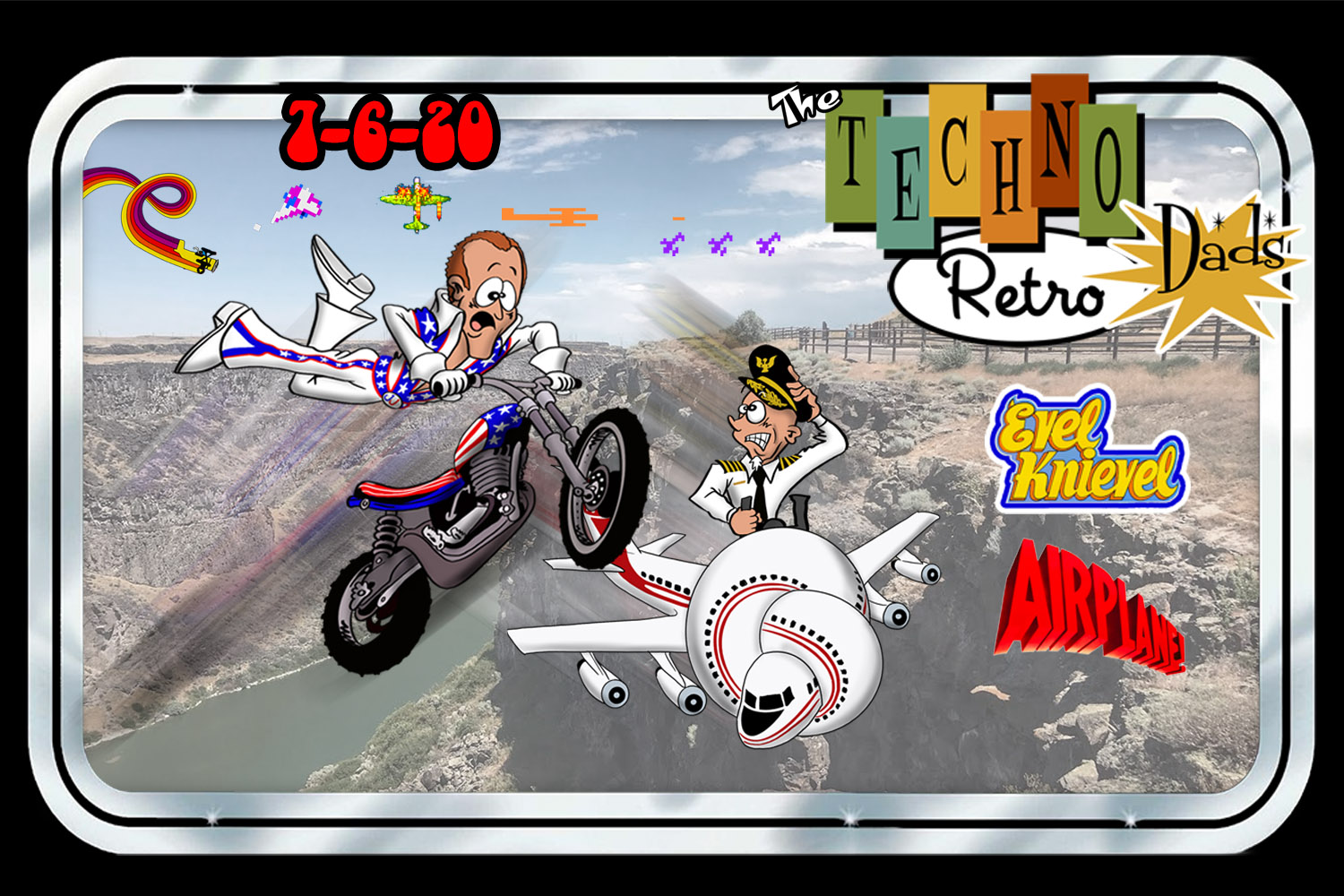 TechnoRetro Dads: Shirley you can't be Evel Knievel
