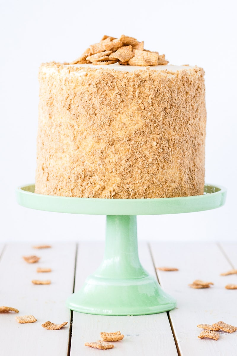 Cinnamon Toast Crunch Cake