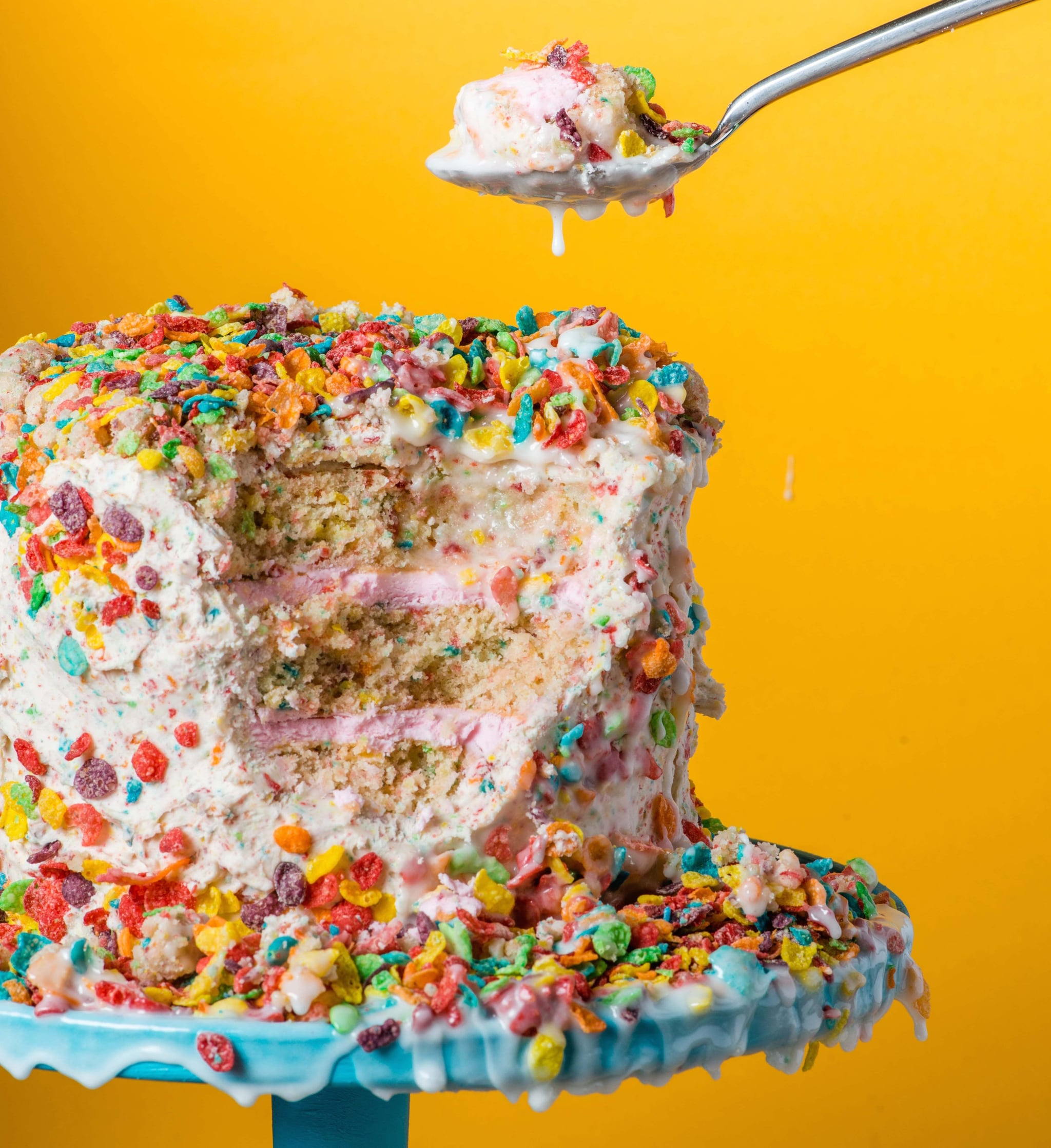 Fruity Pebbles Cake