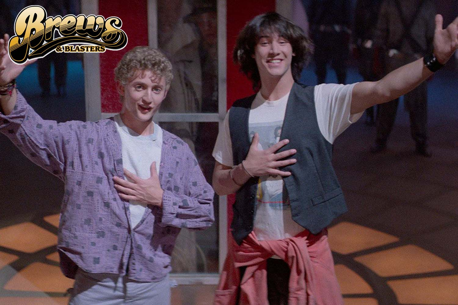 Brews and Blasters 272: Bill and Ted's Excellent Adventure Commentary