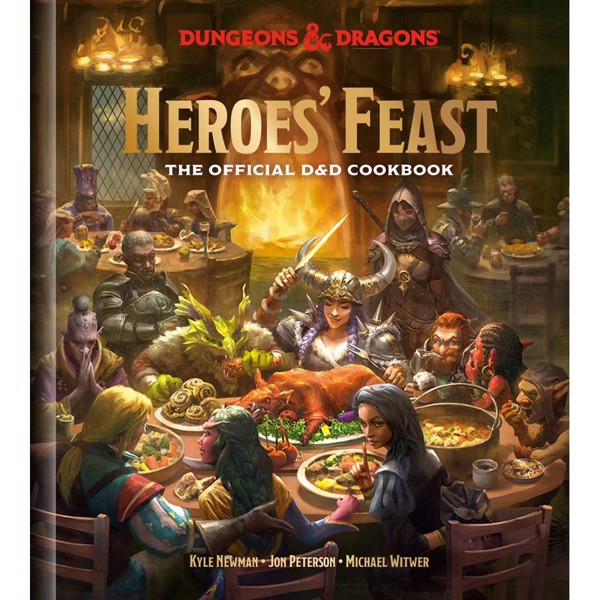 Heroes' Feast Dungeons and Dragons Cookbook