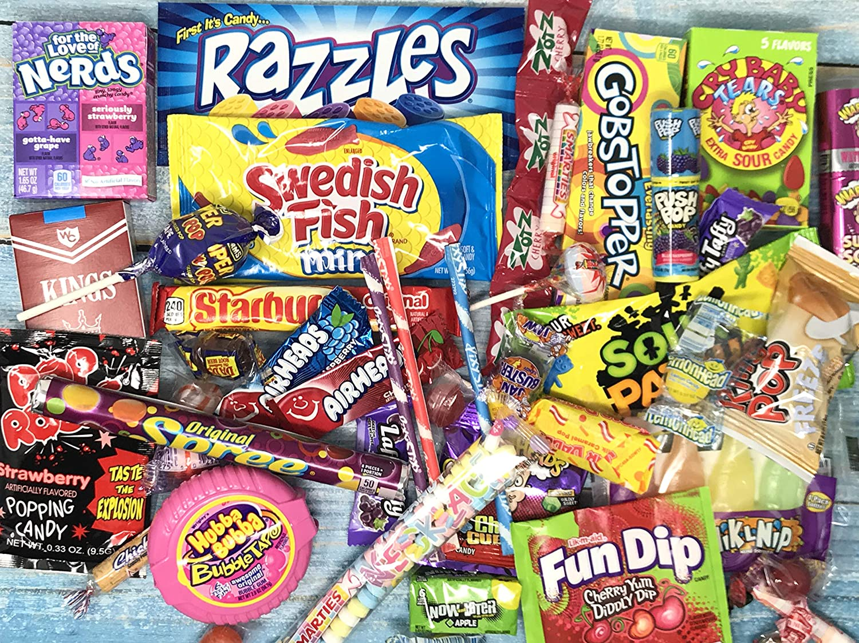 Retro 80's Candy