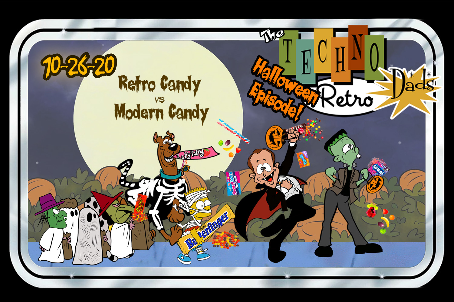 TechnoRetro Dads: Candy Coated Special