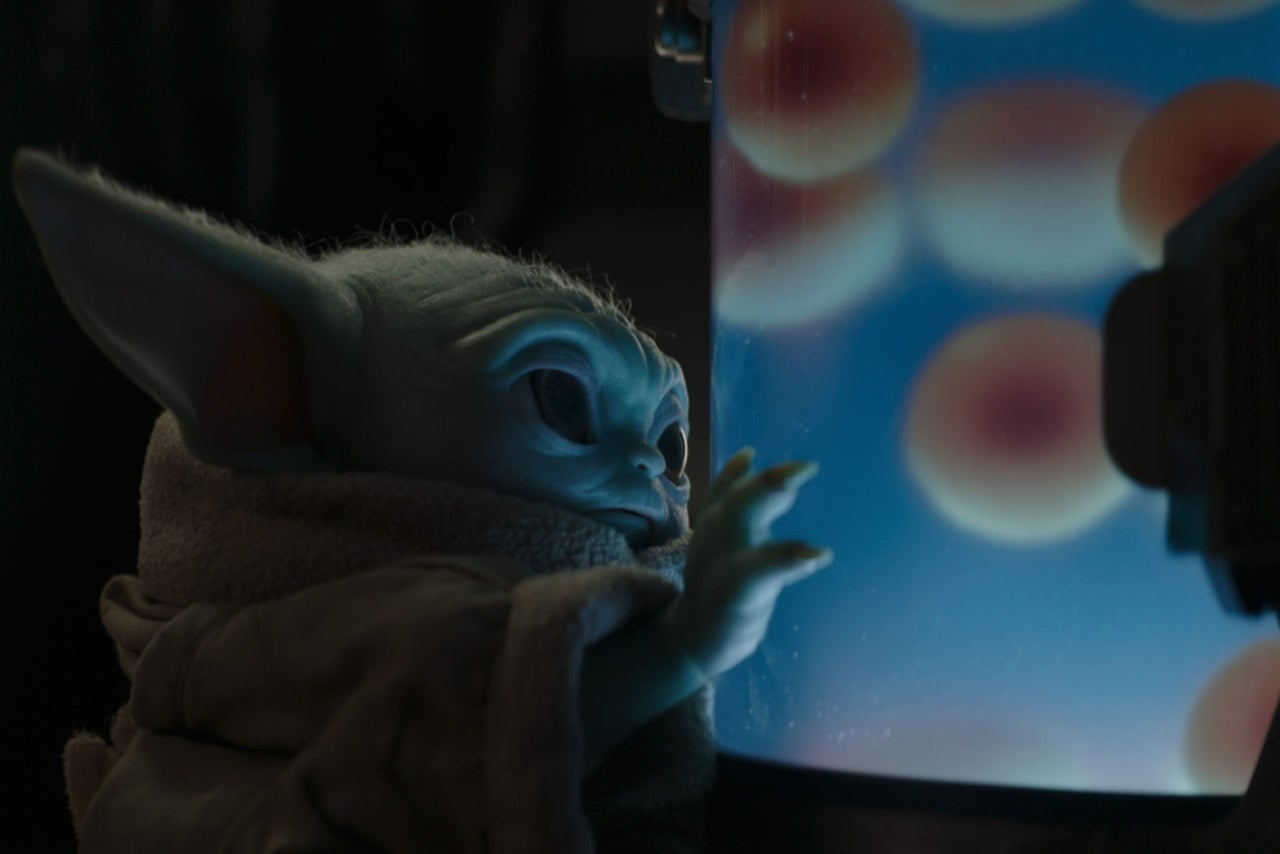 Madalorian Baby Yoda Eggs