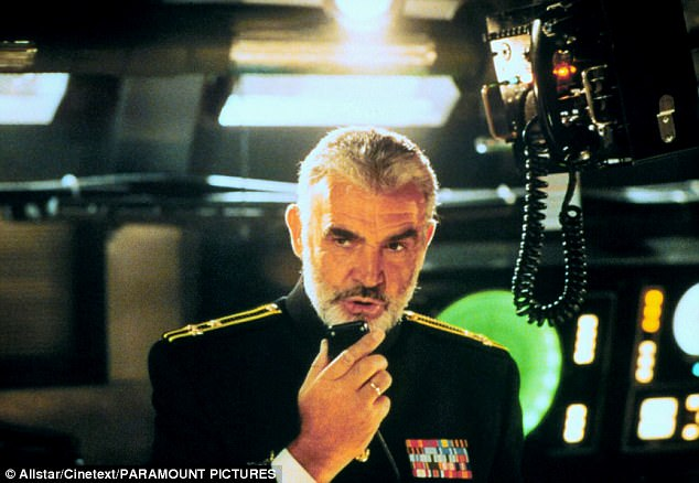 Sean Connery Hunt for Red October
