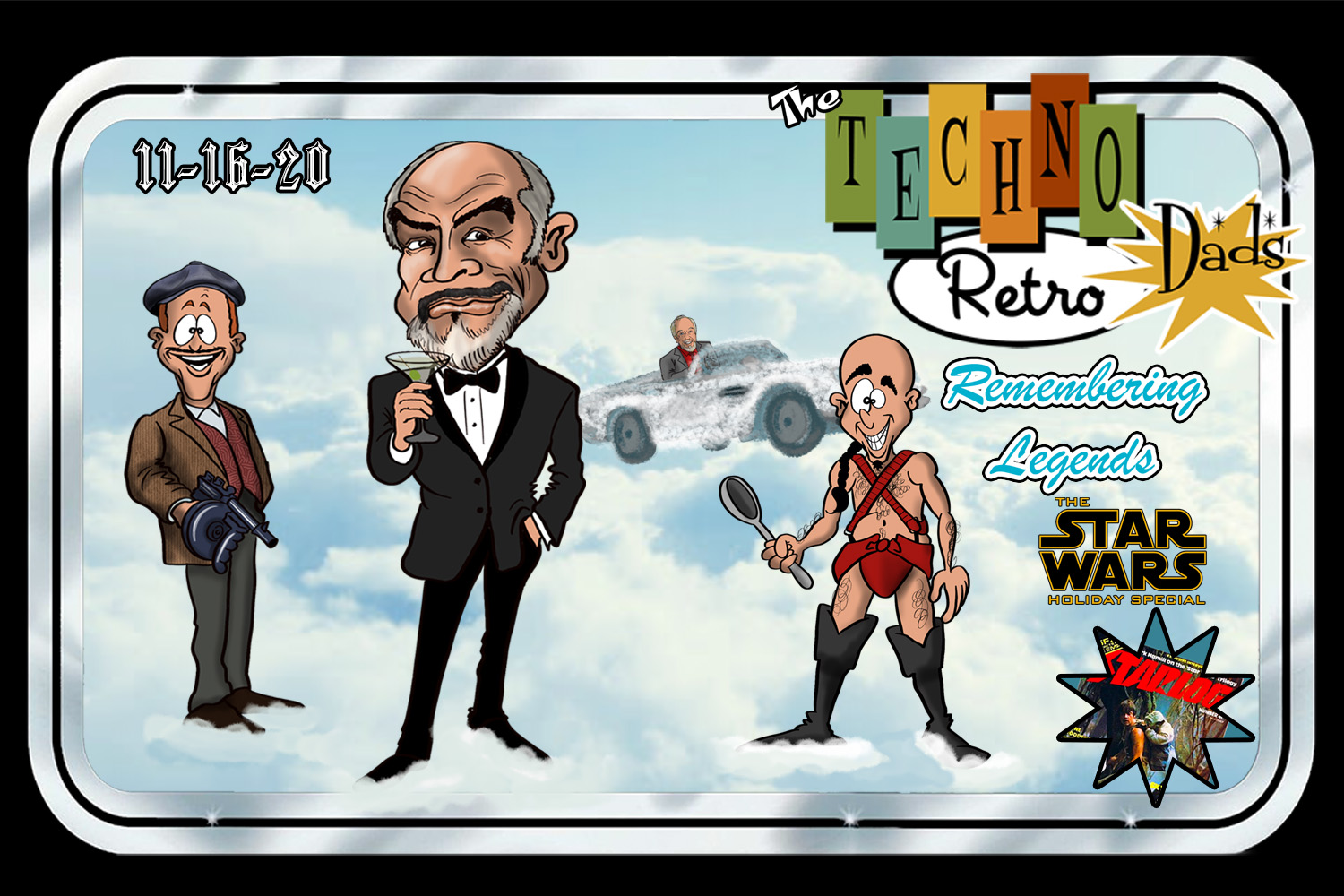 TechnoRetro Dads: Remembering Connery and Other Legends