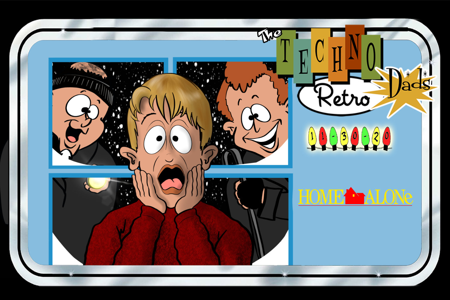 TechnoRetro Dads: Home Alone Together