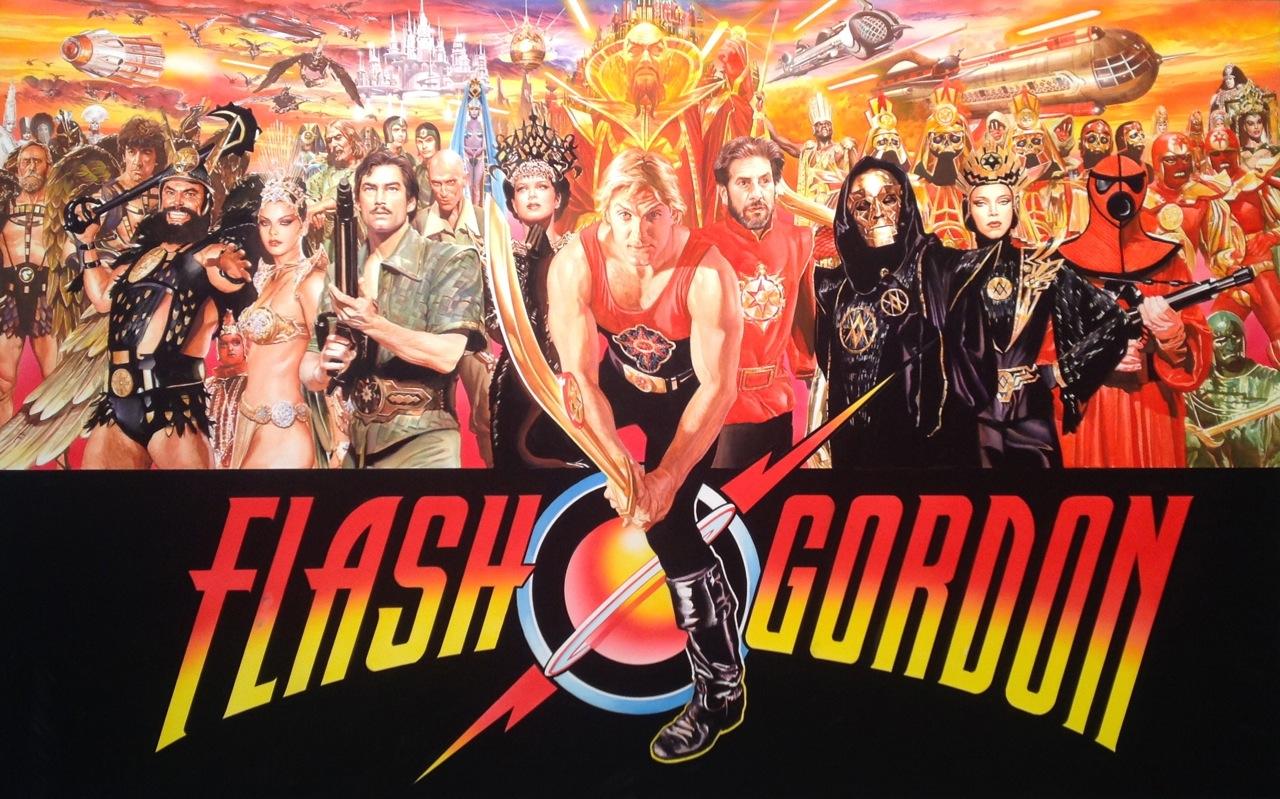 Flash Gordon banner