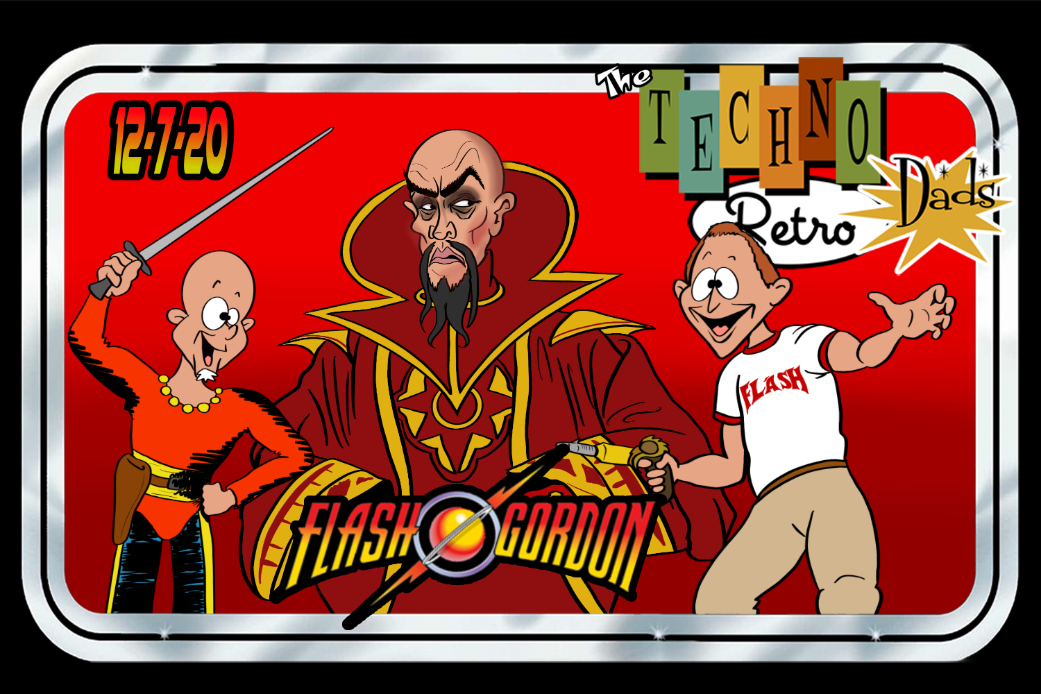 TechnoRetro Dads: 40 Years of Flash Gordon