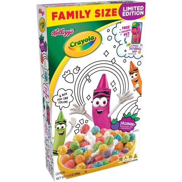 Crayola Cereal